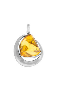 Big pendant honey hue